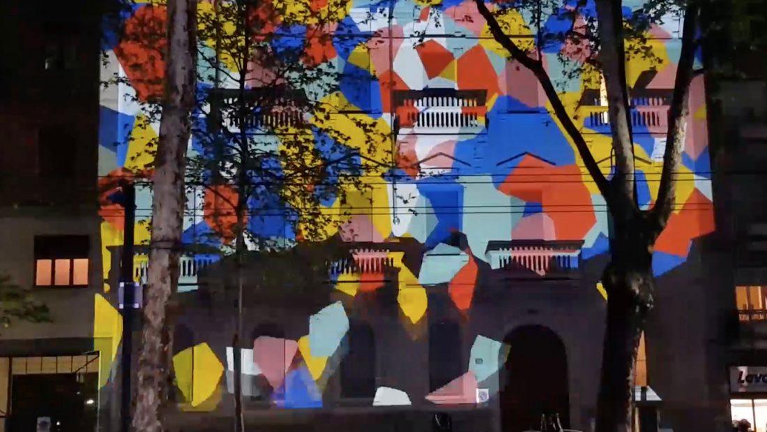 ABS Group - 1P/Primo Piano Fuori Salone 2019 Facade mapping