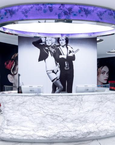 L'atelier di Aldo Coppola si veste con i tessuti ABS Group