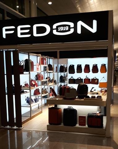 Costruire con il tessuto: gli store Fedon a Madrid e Barcellona