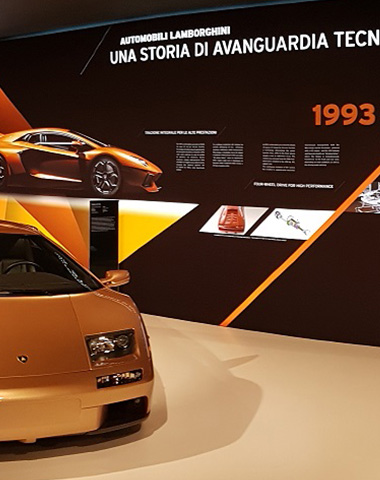 Museo Lamborghini: ripercorrere la storia di un mito e proiettarlo nel futuro