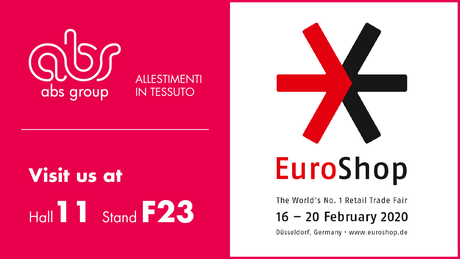ABS Group ad Euroshop 2020