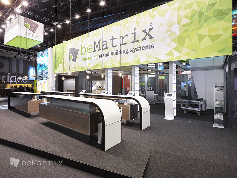 beMatrix stand 1